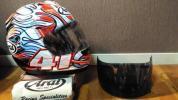 アライ Arai RX-7 RR5 アライ RX7-RR5 ハガ3 芳賀紀行 HAGA3 フルフェイス ヘルメットフルフェイスヘルメットLサイズ 超美品!! 売切り!!