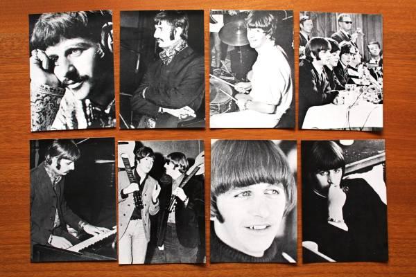 リンゴスター ビートルズ Beatles 写真 ブロマイド 15枚セット