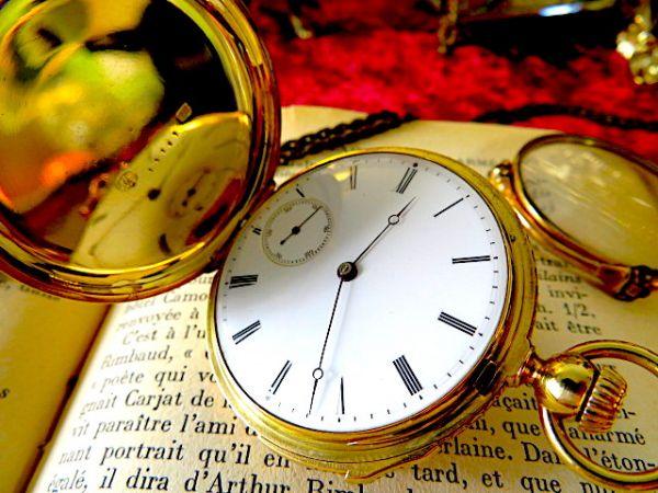 まさに博物館級!! クォーターリピーター PATEK PHILIPPE(パテックフィリップ)のアンティーク懐中時計 18金無垢 18K 1860年代初期 手巻_画像2