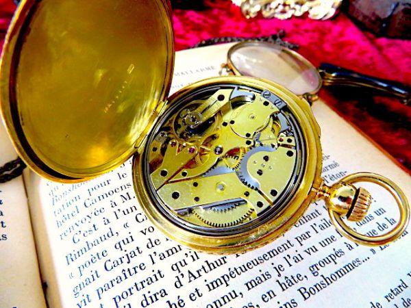 まさに博物館級!! クォーターリピーター PATEK PHILIPPE(パテックフィリップ)のアンティーク懐中時計 18金無垢 18K 1860年代初期 手巻_画像3