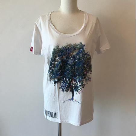 美品 Tomorrowland 2014限定ツリープリントTシャツ トゥモローランド EDM 海外フェス 公式グッズ 音楽 メンズ Ultra EDC レア ティーシャツ