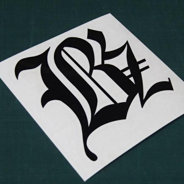 B'z ステッカー ブラック ビーズ シール/デカール/グッズ