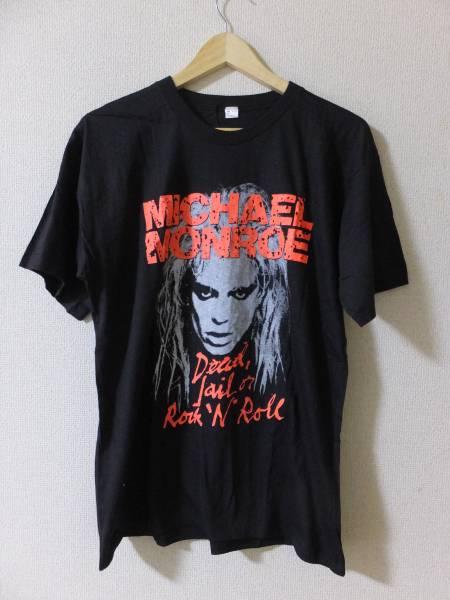 MICHAEL MONROE Dead Jail Or Rock 'N' Roll マイケルモンロー Tシャツ ビンテージ 80's