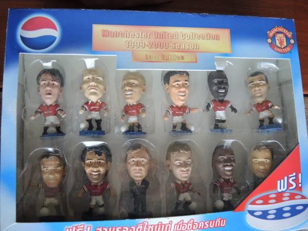 サッカー、マンチェスターユナイテッド、1999-2000シーズン グッズの画像