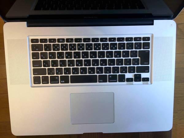 MacBook Pro (17-inch, Early 2011) Core i7 2.2Ghz 新品HDD 1.75TB 16GB メモリ ロジックボード交換済
