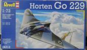 1/72 Revell ホルテン Go229 ドイツ試作戦闘機 内袋未開封