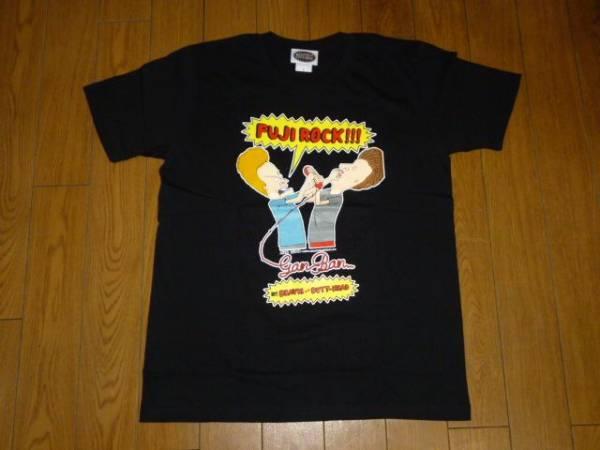 新品 フジロック13 岩盤 ×ビーバス アンド バットヘッド tシャツ fuji rock beavis and butt-head フェス
