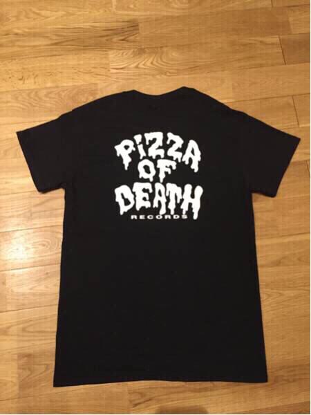 pizza of death Tシャツ M ピザオブデス HI-STANDARD ハイスタ WANIMA ワニマ Ken Yokoyama ライブグッズの画像