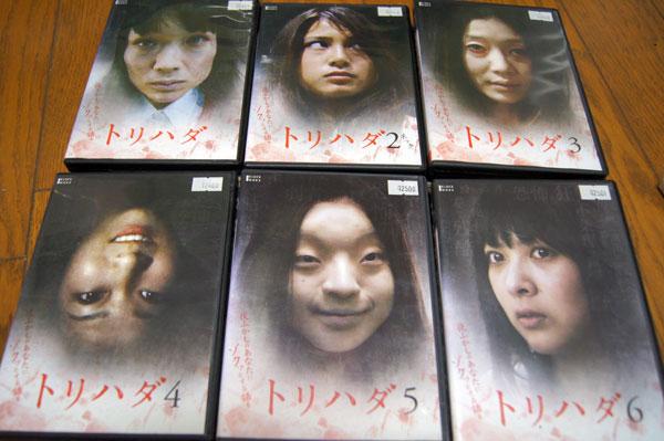 DVD トリハダ 全6巻セット レンタル版 谷村美月 グッズの画像