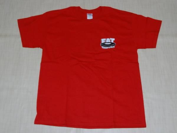 送料無料 新品 FAT WRECKED FOR 25 YEARS Tシャツ赤L/NOFX Hi-STANDARD lagwagon