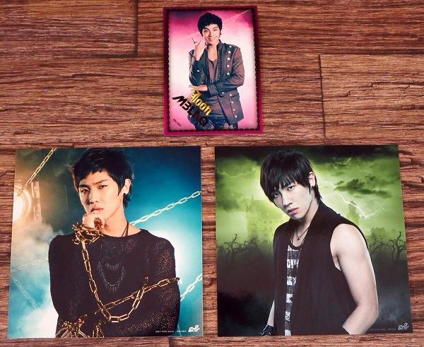 *イ・ジュン(MBLAQ/エムブラック)ジャケカ&トレカ 3枚セット 韓国音楽/K-POP/イジュン*z12728