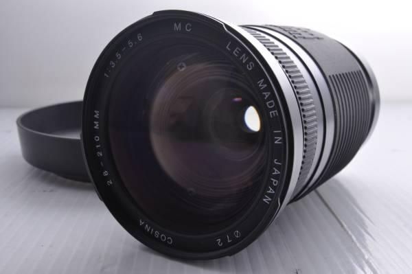 ★極上外観★フード付き★COSINA 28-210mm F3.5-5.6 MC CANON#6606