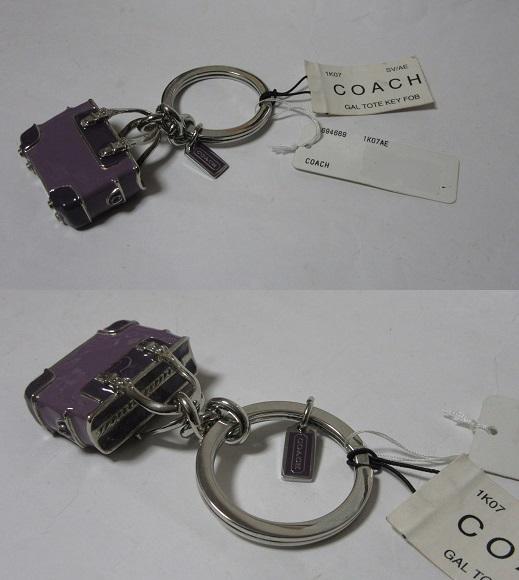 コーチ COACH バッグチャーム&キーホルダー 694669 1K07AE 展示未使用品_画像2