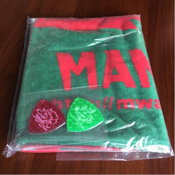 【未開封】【希少】マンウィズ タオル MAN WITH A MISSION クリスマス限定カラー ステッカー付き