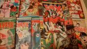 少年ブック 付録 漫画 12冊一括。 経年劣化 並〜並下。 手塚治虫 益子 貝塚 小沢……