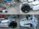共立 スパイダーモアー AZ650A karスタート 草刈機 斜面刈 4WD ブレーキ付