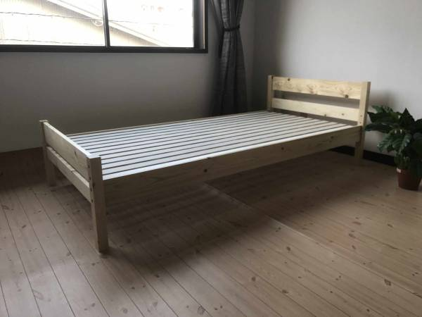 送料無料 新品 セミダブルベッド すのこベッド 3段階調節機能 Newピコ NA ?2 (一部地域送別)