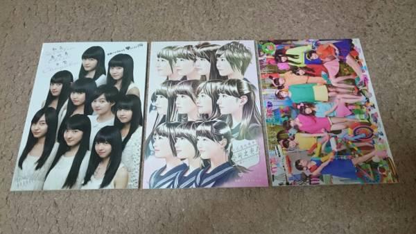 私立恵比寿中学 公式パンフレット 3冊セット 美品 ライブグッズの画像