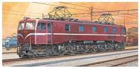 新品アオシマ 1/50 EF58 電気機関車 No.6 プラ