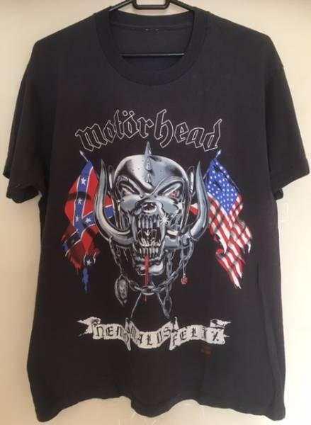 Motorhead - t-shirt (Size L) : オリジナル/1991 America Tour 日程バックプリントあり