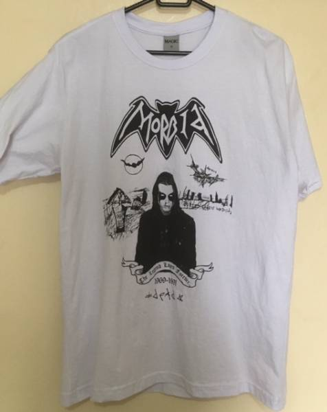 MORBID - t-shirt (Size M) mayhem darkthrone burzum emperor blasphemy sarcofago bathory sodom destruction