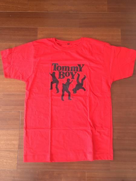 TOMMY BOY Tシャツ 赤 2000年前後 アメリカ購入 新品未使用品!