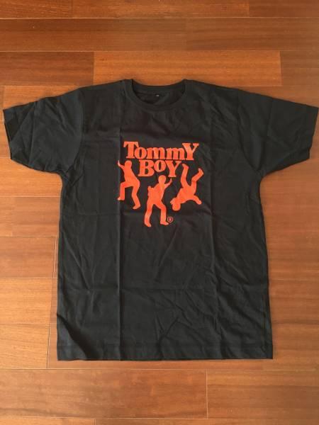 TOMMY BOY Tシャツ 黒 2000年前後 アメリカ購入 新品未使用品!