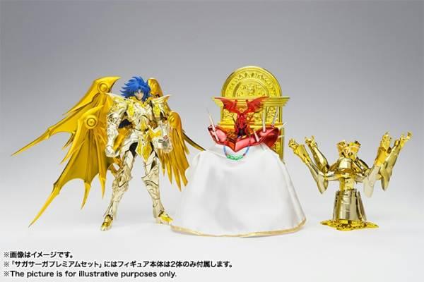 聖闘士聖衣神話EX 聖闘士星矢 サガサーガプレミアムセット 新品未開封  グッズの画像