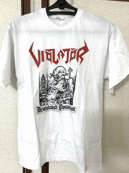 【美品】【メタルT】 VIOLATOR T シャツ サイズM スラッシュメタル THRASH METAL