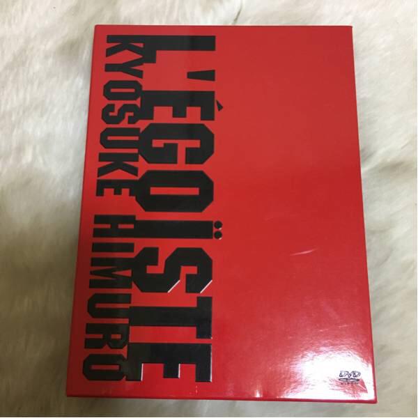 美品 L'EGOISTE 氷室京介DVD ライブグッズの画像