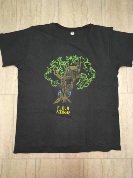 希少 mash 初期 bigflog ビッグフロッグ Tシャツ ZENKEY F.O.H チャコールグレー phatee THC 2-tacs shanti マッシュ ジャム 良好