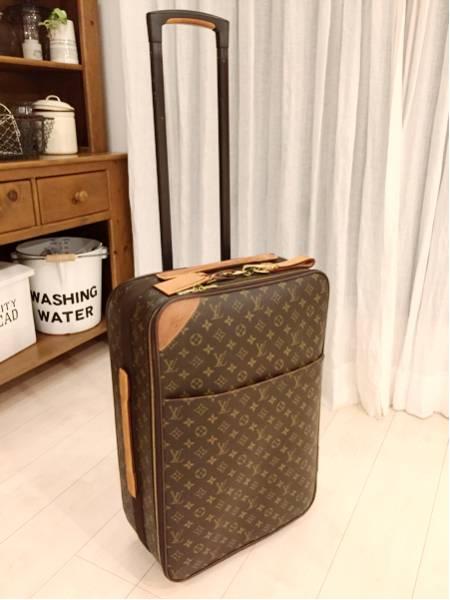 【ルイ・ヴィトン モノグラム キャリーバッグ ペガス 55 53 スーツケース トランク 】美品