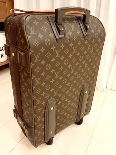 【ルイ・ヴィトン モノグラム キャリーバッグ ペガス 55 53 スーツケース トランク 】美品_画像2