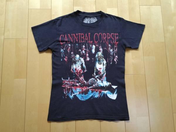 2002年 USA製 CANNIBAL CORPSE butchered at birth Tシャツ carcass napalm death nasum terrorizer suffocation