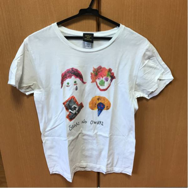 sekai no owari fukase ティシャツ 半袖 S ホワイト 送料 164円 セカオワ ライブ ライブグッズの画像