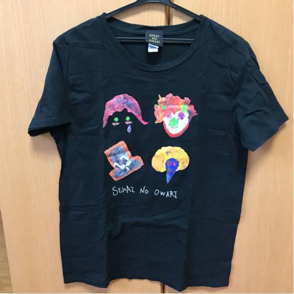 美品 sekai no owari fukase ティシャツ 半袖 ブラック M セカオワ ライブ 送料 164円 ライブグッズの画像