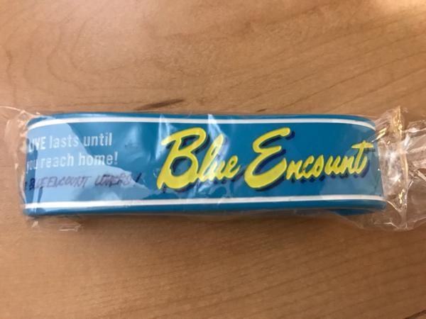 送料無料BLUE ENCOUNT新品未開封ラバーバンド04LIMITED SAZABYS THE ORAL CIGARETTES