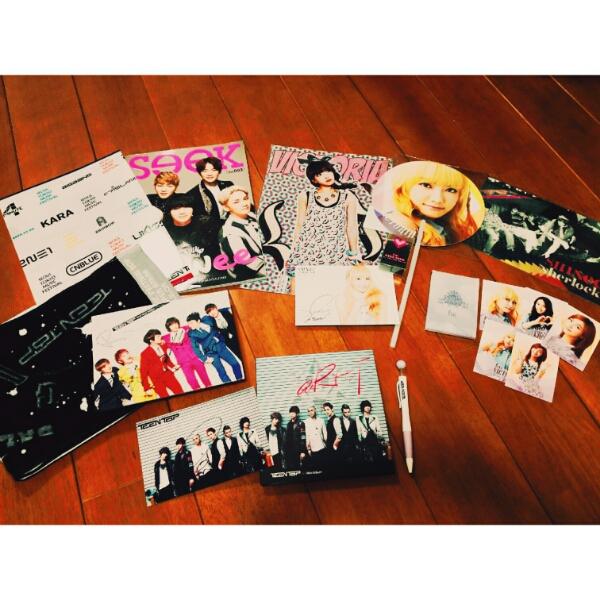 k-pop まとめ売り f(x) teentop shinee サイン トレカ smtown