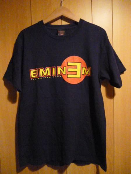 エミネム★2003年 ザ エミネムショー ツアー Tシャツ★Lサイズ★ブラック★Eminem ビッグ ロック バンド