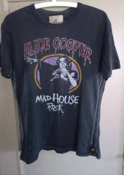 ☆古着☆ アリス・クーパー(Alice Cooper)MADHOUSE ROCK バンドTシャツM LOUDPARKラウパーマイケルシェンカーAPOCALYPTICAビンテージ