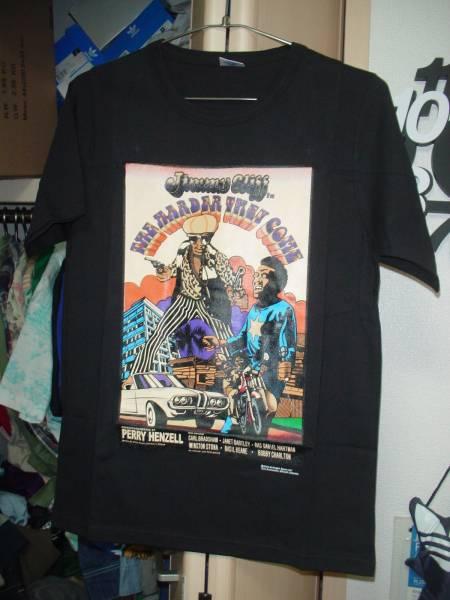 Jimmy Cliff ジミークリフ ハーダーゼイカムのジャケットTシャツ レゲエ REGGAE 黒