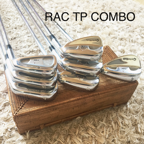 名器 TaylorMade RAC TPコンボ スチールアイアン 7本セット DG S300 4-PW