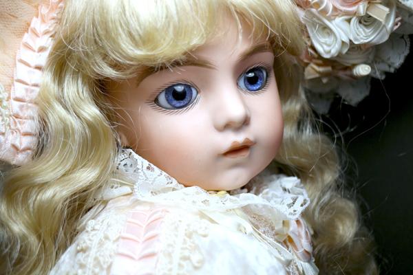 魅惑の美少女♪ブリュ(^^)リプロ 63cm 英国工房 by著名作家 1点もの/西洋骨董 ロリータ服