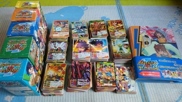 イナズマイレブン イナズマイレブンGO カード大量 約1200枚以上 イナズマレア スーパーレア多数 カードファイル セット まとめ売り トレカ グッズの画像