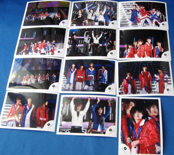伊野尾慧  山田 知念 集合写真 12枚公式 ショップ 2009/ 2 Hey!Say!JUMP  コンサートグッズの画像
