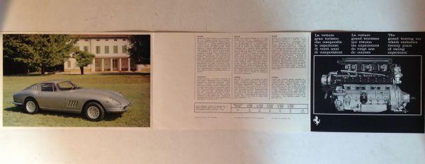 ★[海外・旧車カタログ]1966年 フェラーリ 275 GTB4 (ピニンファリーナ) / FERRARI 275 GTB4 (pininfarina)★_画像2