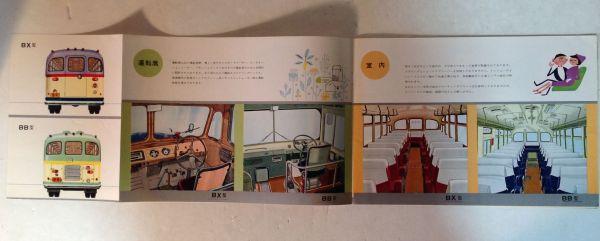 ★[国産・バス]昭和35年 いすゞ バス BX/BB系のカタログ / ISUZU BUS★_画像3