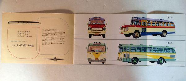 ★[国産・バス]昭和35年 いすゞ バス BX/BB系のカタログ / ISUZU BUS★_画像2