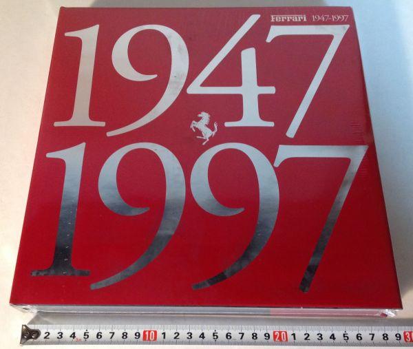 ★[5-15・海外・洋書]<未開封品>1997年 フェラーリ50周年記念本「Ferrari 1947-1997」 スポンサー向け★