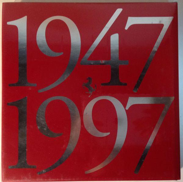 ★[5-15・海外・洋書]<未開封品>1997年 フェラーリ50周年記念本「Ferrari 1947-1997」 スポンサー向け★_画像2